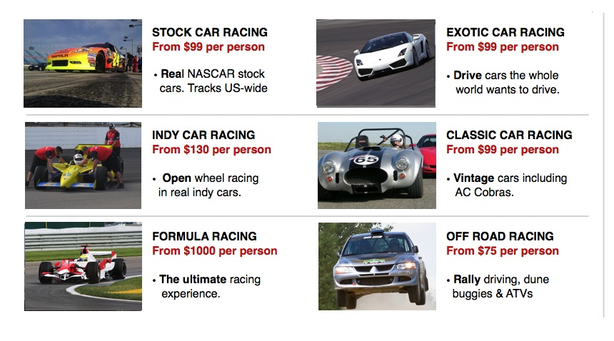 Driving Event Options