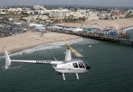 beach helicopter tour la