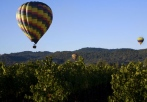 champagne balloon flight napa valley
