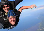 tandem skydive lake superior