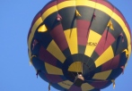 hot air balloon flight lake norman