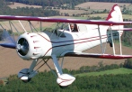 aerobatic biplane ride virginia