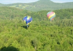 hot air balloon ride catskill mountains