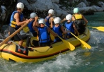 childrens rafting experience