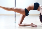 introductory pole dancing lesson LA