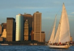 classic ship sailing new york