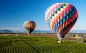 hot air balloon flight over temecula