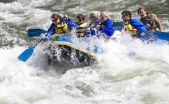 rafting the merced river in california