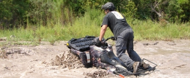 extreme quadbiking course