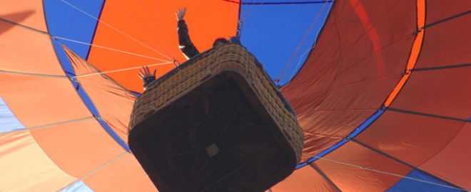 hot air balloon flights alexandria