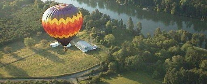 hot air balloon rides portland