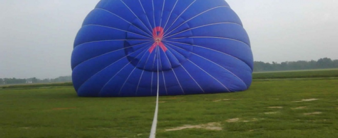 hot air balloon flight in mobile alabama