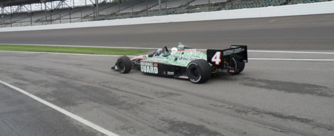 indycar ride a long experience in indianapolis