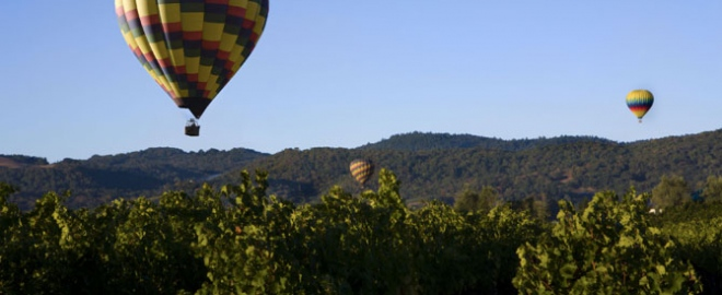 child balloon ride napa