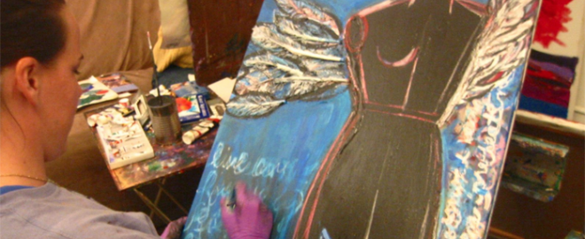 private painting class new york