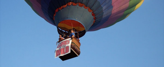 hot air balloon ride florida