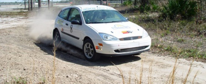 Rally racing school