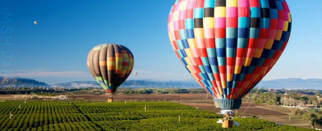 tenecula balloon rides california