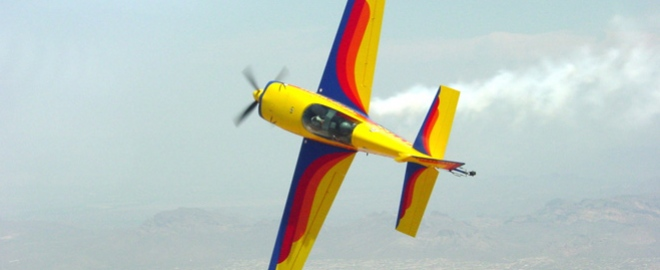 flying lessons in an aerobatic plane arizona
