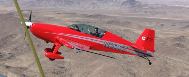 aerobatic thrill flight las vegas