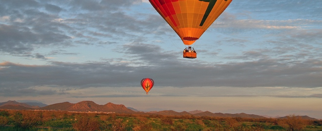 balloon flights phoenix