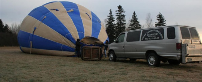 maine balloon flights