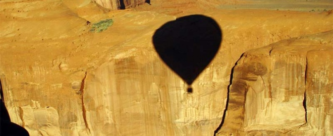 hot air balloon flight utah