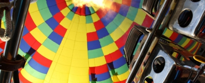 balloon flights texas