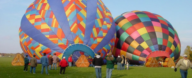 michigan balloon flights