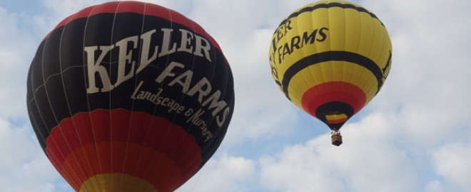 hot air balloon flights columbus
