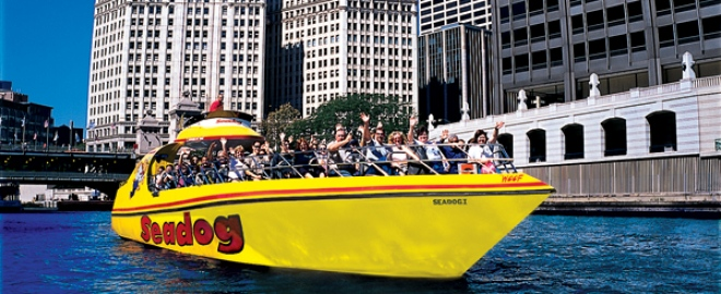 speedboat tour chicago