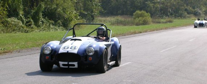 ac cobra race