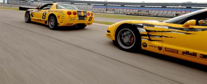 ride a long corvette experience