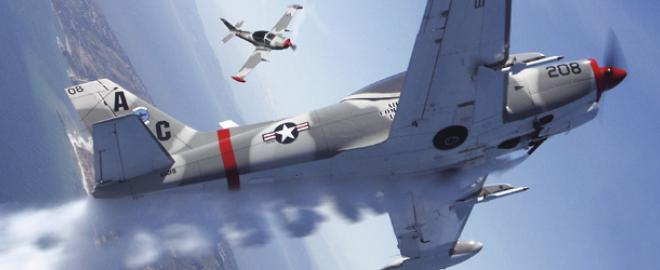 fly a fighter plane