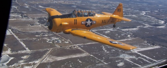 warbird flight chicago