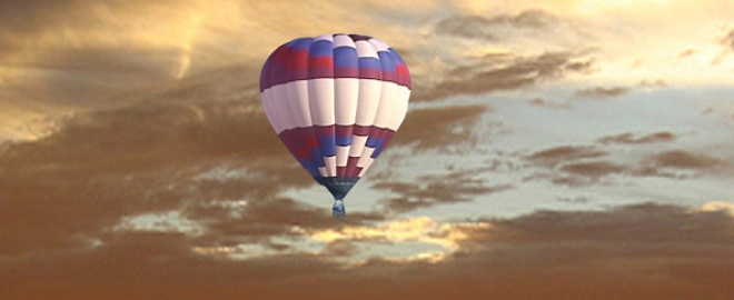 champagne hot air balloon ride lake havasu