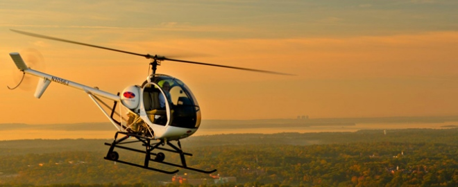 helicopter flying lesson ny