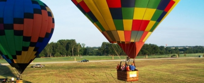 hot air balloon rides dallas