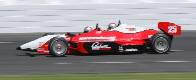 ride a long indy car