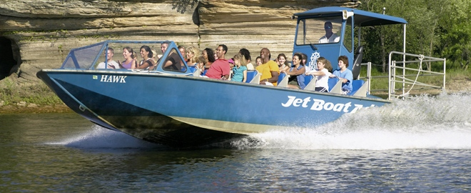wisconsin jet boat ride