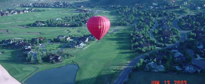 hot air balloon rides salt lake city