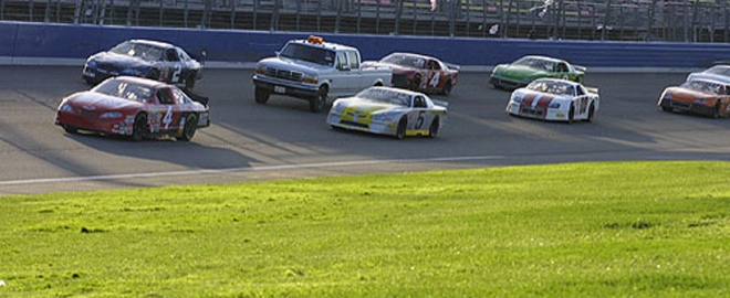 stock car driving