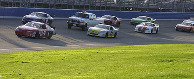 stock car driving experience