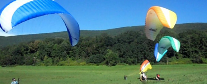 paragliding course new york