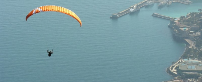 introduction to paragliding los angeles
