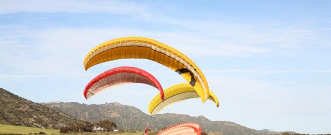 malibu paragliding introduction course