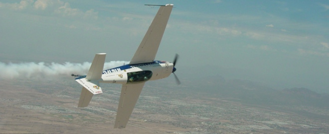 phoenix aerobatic flight experience