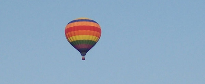 Slatington Airport balloon flight
