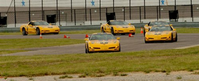 corvette ridealong texas motor speedway