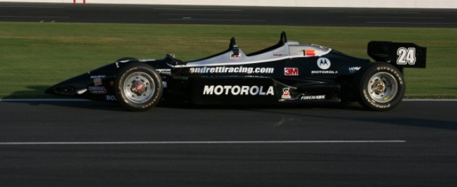 ride a long in an indy car